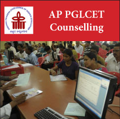 AP PGLCET Counselling 2017