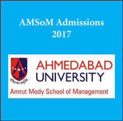 Amrut Mody School of Management announces MBA admissions 2017