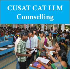 CUSAT CAT LLM Counselling 2017