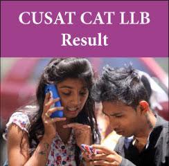 CUSAT CAT LLB Result 2017