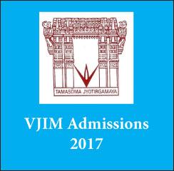 VJIM Hyderabad announces PGDM admissions 2017