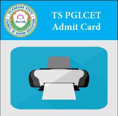 TS PGLCET Admit Card 2017