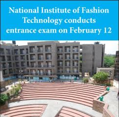 National Institute of Fashion Technology conducts entrance exam on February 12