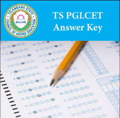 TS PGLCET Answer Key 2017