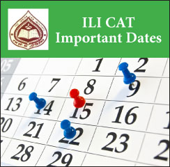 ILI CAT Important Dates 2017
