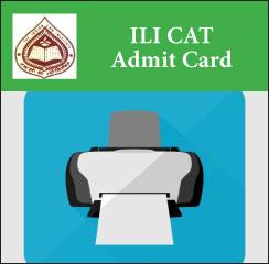 ILI CAT Admit Card 2017