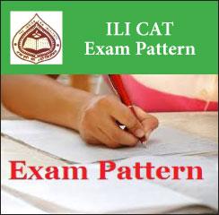 ILI CAT Exam Pattern 2017