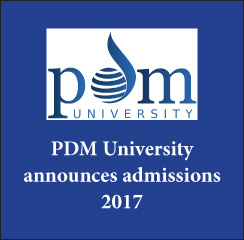 PDM University announces admissions 2017