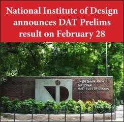 National Institute of Design announces DAT Prelims result on February 28