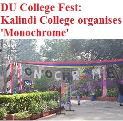 DU College Fest: Kalindi College organizes 'Monochrome'