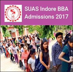 SUAS Indore Announces BBA Admissions 2017