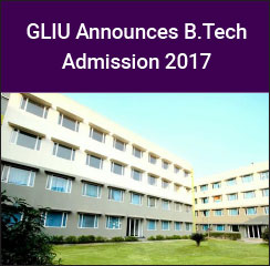 Great Lakes International University announces B.Tech Admission 2017