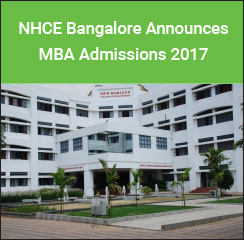 NHCE Bangalore Announces MBA Admissions 2017