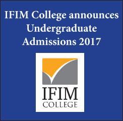IFIM College announces UG admissions 2017