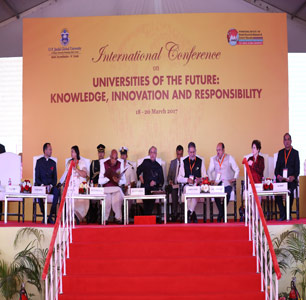 OP Jindal Global University conducts conference on Universities of the Future