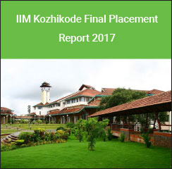 IIM Kozhikode Final Placement Report 2017: Finance domain makes 26 per cent offers