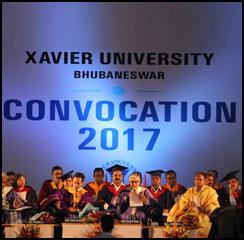 Xavier University Bhubaneswar conducts Convocation 2017