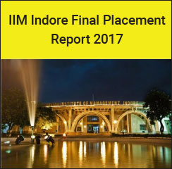 IIM Indore Final Placement Report 2017 - Strategy and Consulting highest recruiting domain