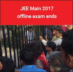 JEE Main 2017 offline exam ends