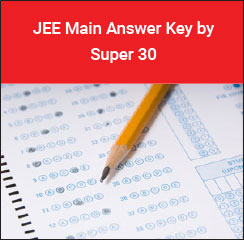 JEE Main 2017 Answer Key by Super 30