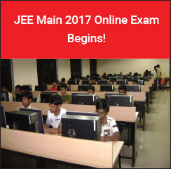 JEE Main 2017 Online Exam Begins!