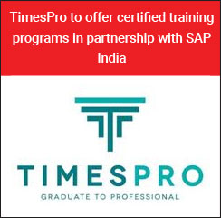 TimesPro to offer certified training programs in partnership with SAP India