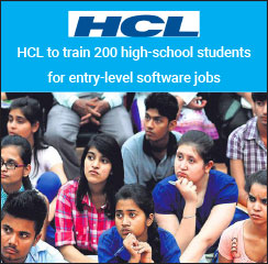HCL to train 200 high-school students for entry-level software jobs