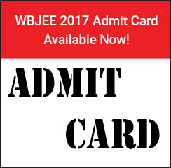 WBJEE 2017 Admit Card Available Now!