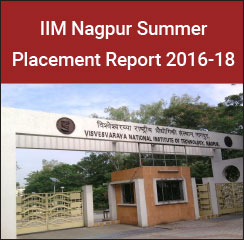 IIM Nagpur Summer Placement Report 2016-18 - Sales & Marketing preferred domain