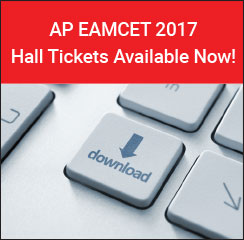 AP EAMCET 2017 Hall Ticket Available Now!