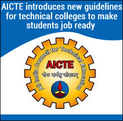 AICTE introduces new guidelines for technical colleges to make students job ready