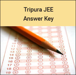 Tripura JEE (TJEE) Answer Key 2017