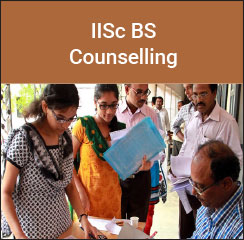 IISc BS Counselling 2017
