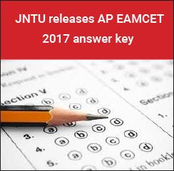 JNTU releases AP EAMCET 2017 Answer Key
