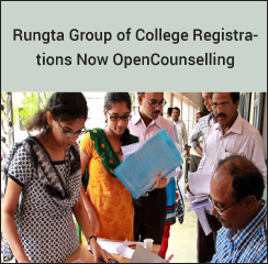 Rungta Group of College Registrations Now Open!