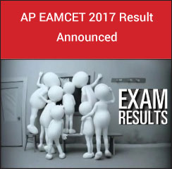 AP EAMCET 2017 Result Announced!