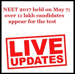 NEET 2017 held on May 7; over 11 lakh candidates appear for the test