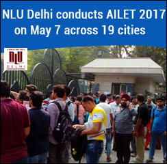 AILET 2017: NLU Delhi conducts exam on May 7 in 19 cities; 17000 aspirants appear for test