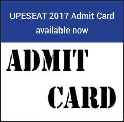 UPESEAT 2017 Admit Card available now