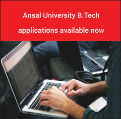 Ansal University B.Tech 2017 applications available now!