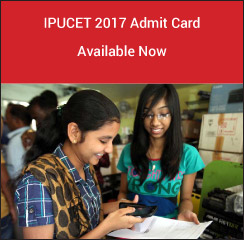 IPUCET 2017 Admit Card Available Now