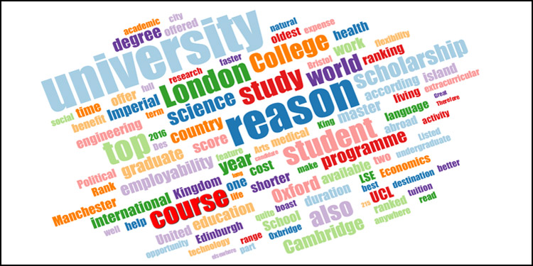 Top 10 reasons to study in UK