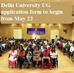 DU Admissions 2017: Delhi University UG application form to begin from May 22