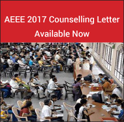 AEEE 2017 Counselling Letter Available!