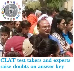 CLAT 2017: Test takers and Experts raise doubts on answer key