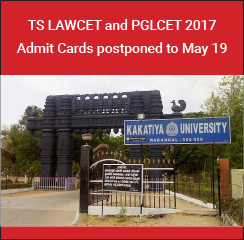 TS LAWCET and PGLCET 2017 Admit Cards postponed to May 19