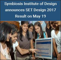 Symbiosis Institute of Design announces SET Design 2017 Result on May 19