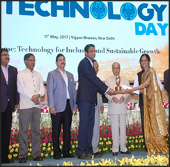 Amrita University wins National Award for best Technology Business Incubator!