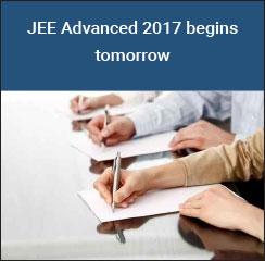 JEE Advanced 2017 begins tomorrow - May 21