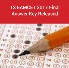 TS EAMCET 2017 Final Answer Key Released!
